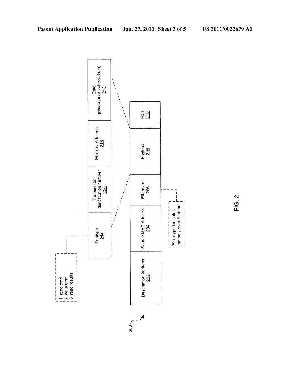 METHOD AND SYSTEM FOR UTILIZING NATIVE ETHERNET AS A VIRTUAL MEMORY INTERCONNECT - diagram, schematic, and image 04