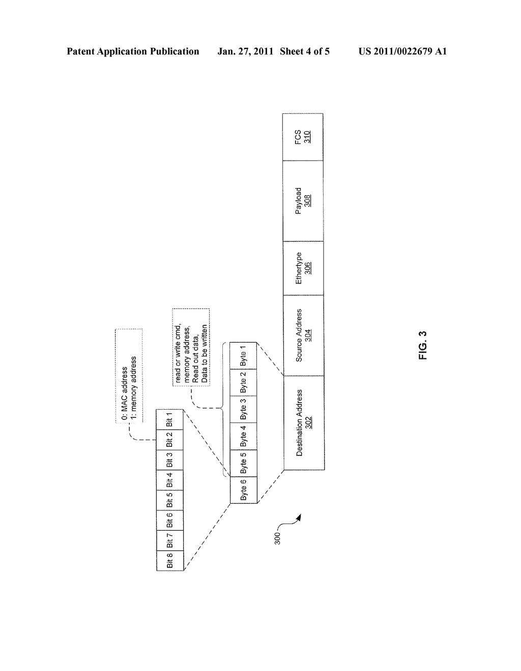 METHOD AND SYSTEM FOR UTILIZING NATIVE ETHERNET AS A VIRTUAL MEMORY INTERCONNECT - diagram, schematic, and image 05