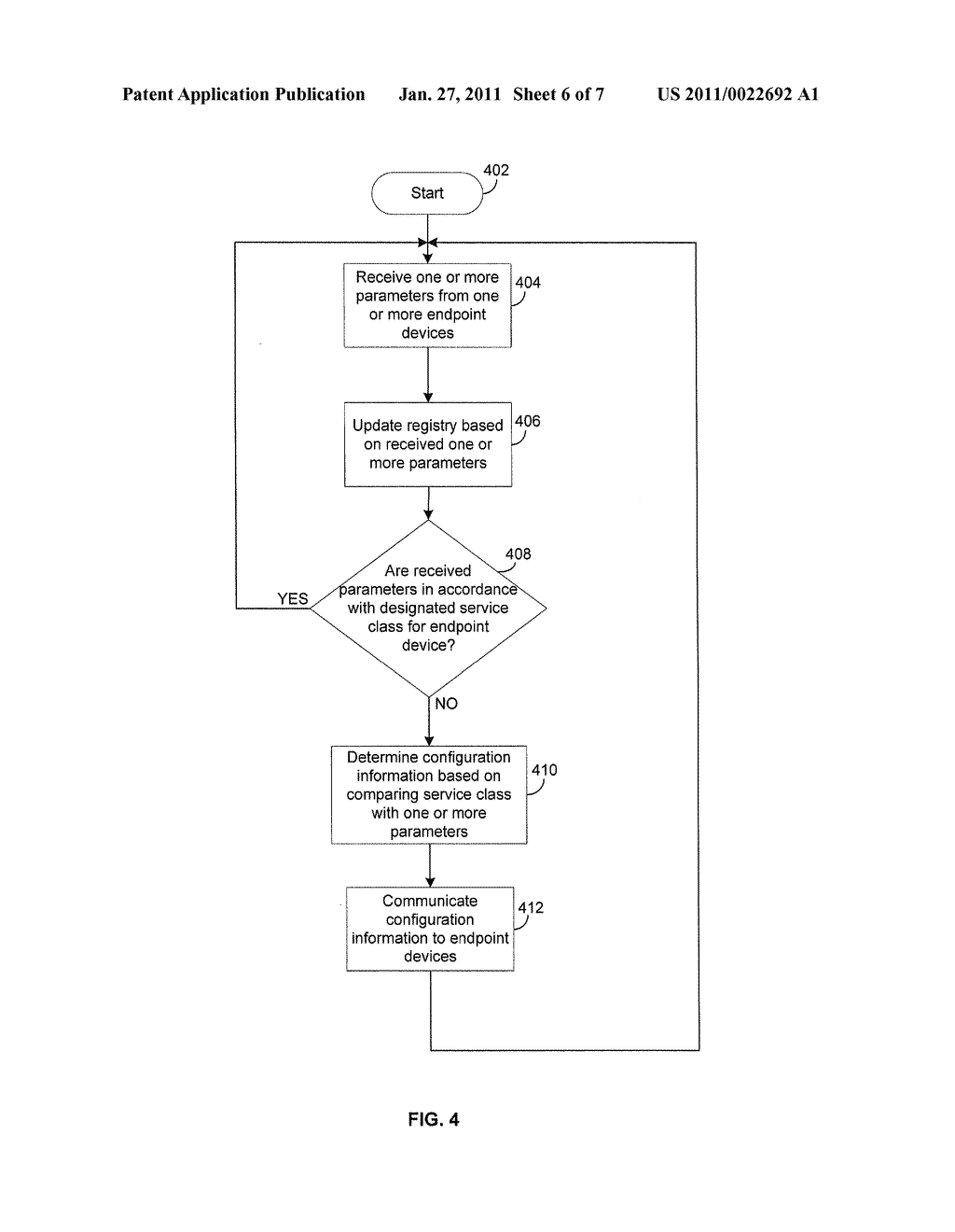 METHOD AND SYSTEM FOR DETERMINING AND CONTROLLING USER EXPERIENCE IN A NETWORK - diagram, schematic, and image 07