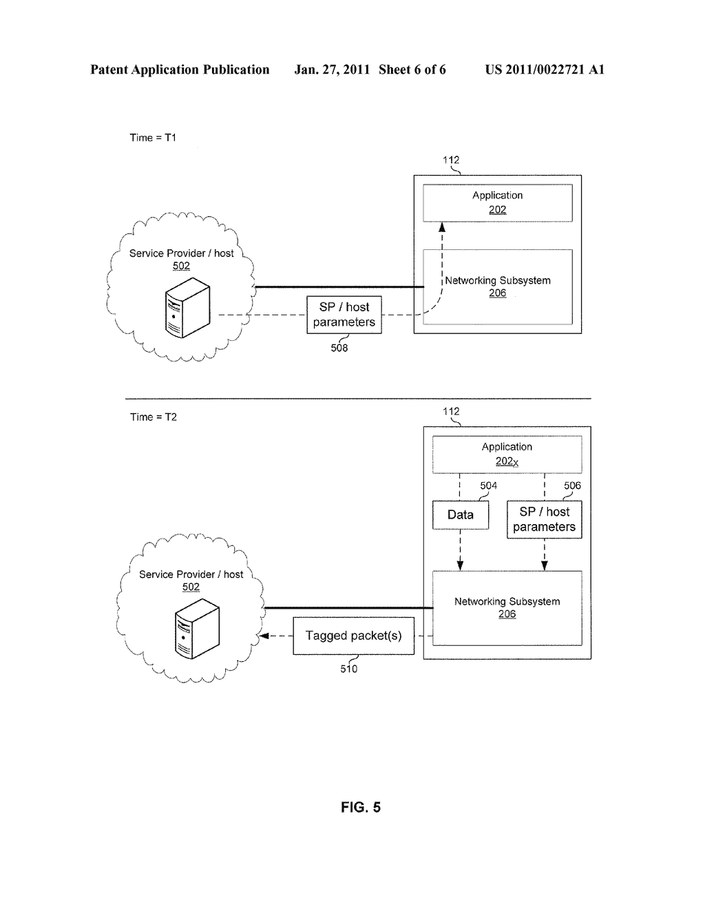 METHOD AND SYSTEM FOR PACKETIZING DATA FOR SERVICING TRAFFIC END-TO-END - diagram, schematic, and image 07