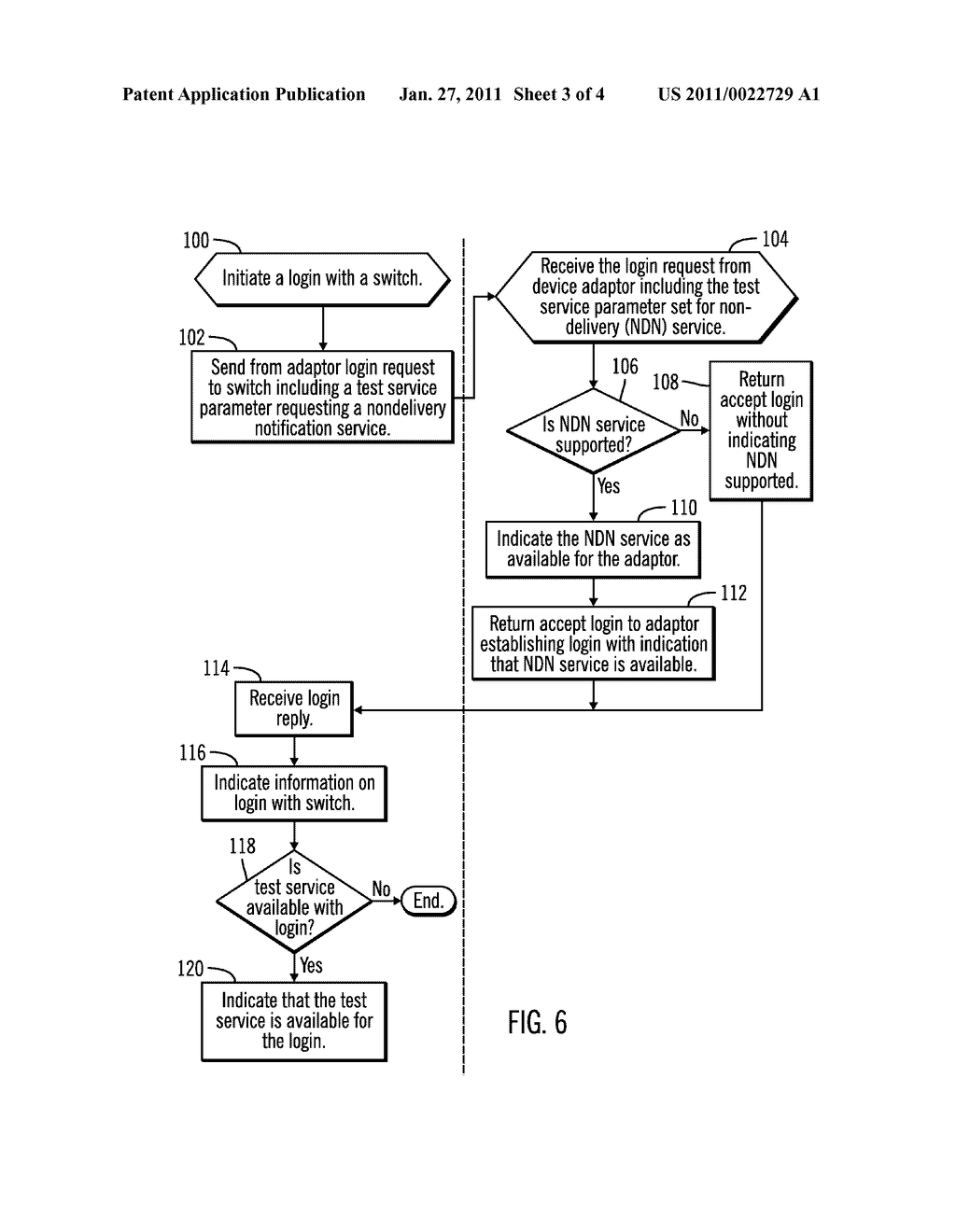SUPPORTING NON-DELIVERY NOTIFICATION BETWEEN A SWITCH AND DEVICE IN A NETWORK - diagram, schematic, and image 04