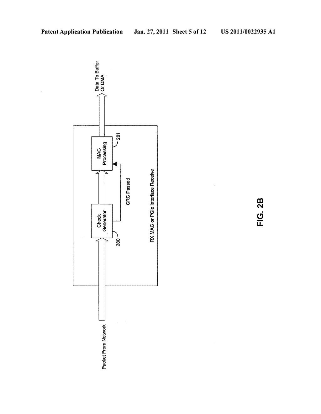 Method and System for Interlocking Data Integrity for Network Adapters - diagram, schematic, and image 06