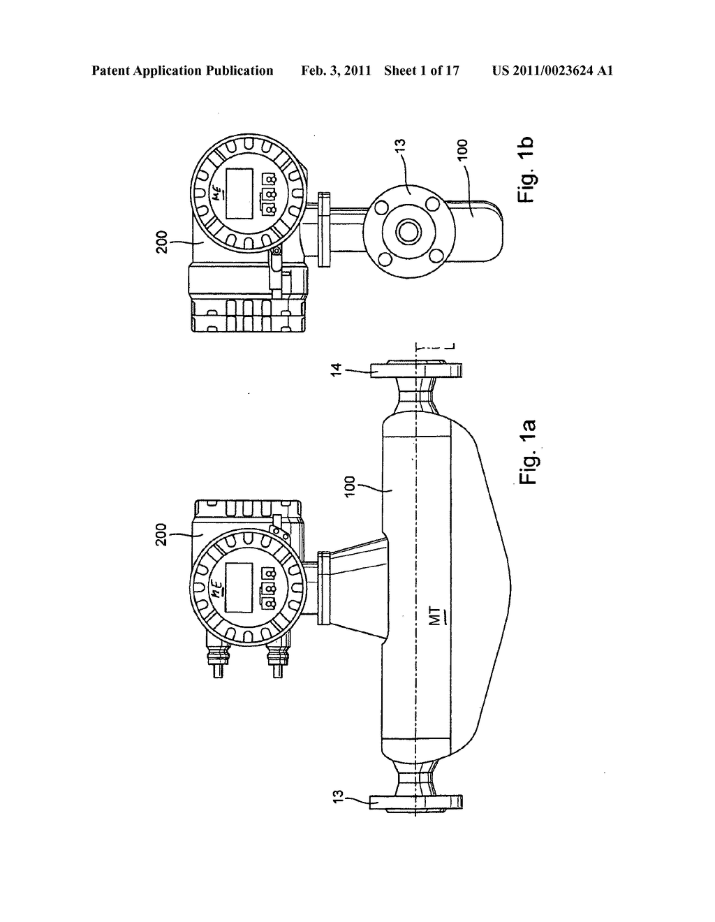 Vibration-type measuring transducer as well as measuring device with such a measuring transducer - diagram, schematic, and image 02