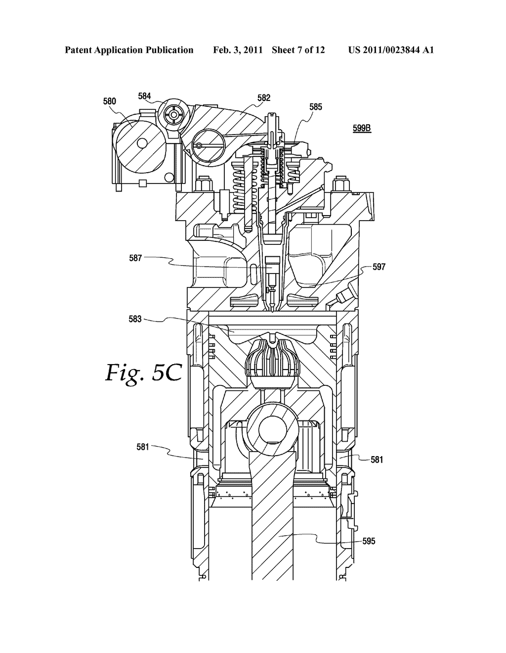 Two Stroke Diesel Engine Diagram Wiring Library Train Exhaust Valve Timing And Lift System For A Locomotive Having
