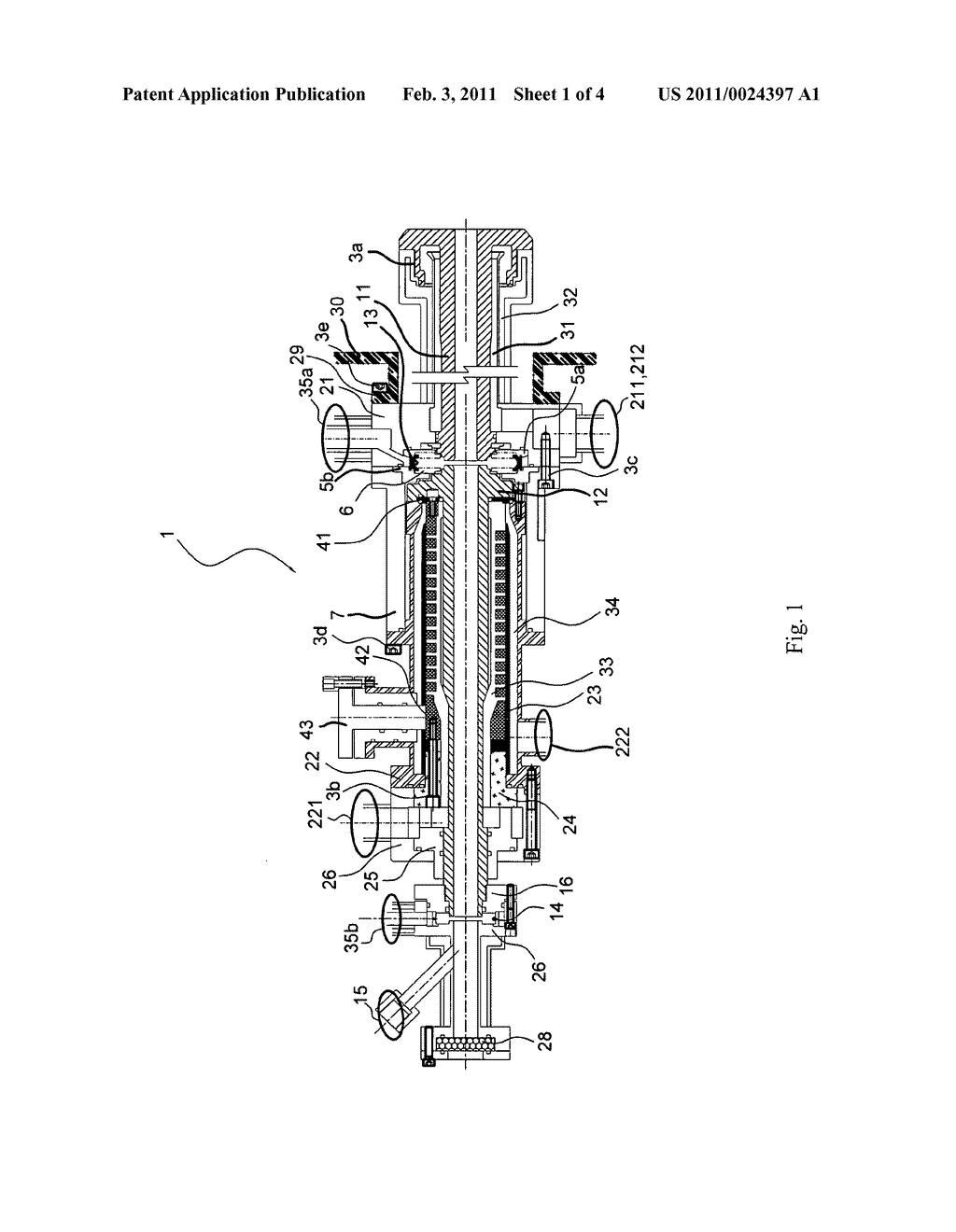 Direct current steam plasma torch and method for reducing the erosion of electrodes thereof - diagram, schematic, and image 02
