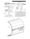 INJECTION-MOLDED WINDOW PANEL AND RELATED METHODS diagram and image