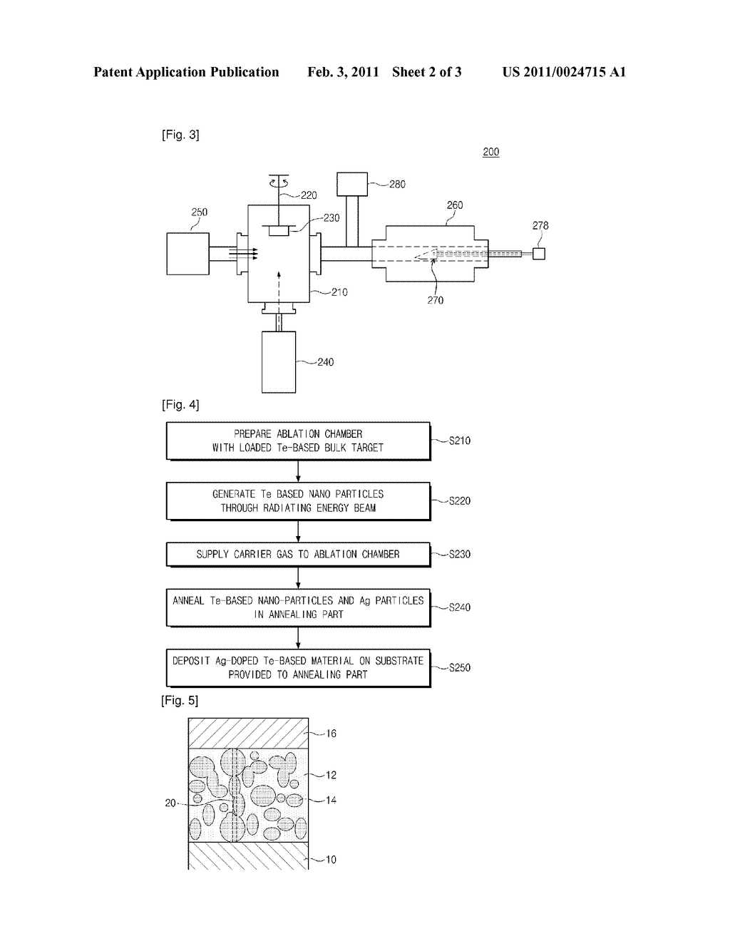 METHOD OF FABRICATING AG-DOPED TE-BASED NANO-MATERIAL AND MEMORY DEVICE USING THE SAME - diagram, schematic, and image 03