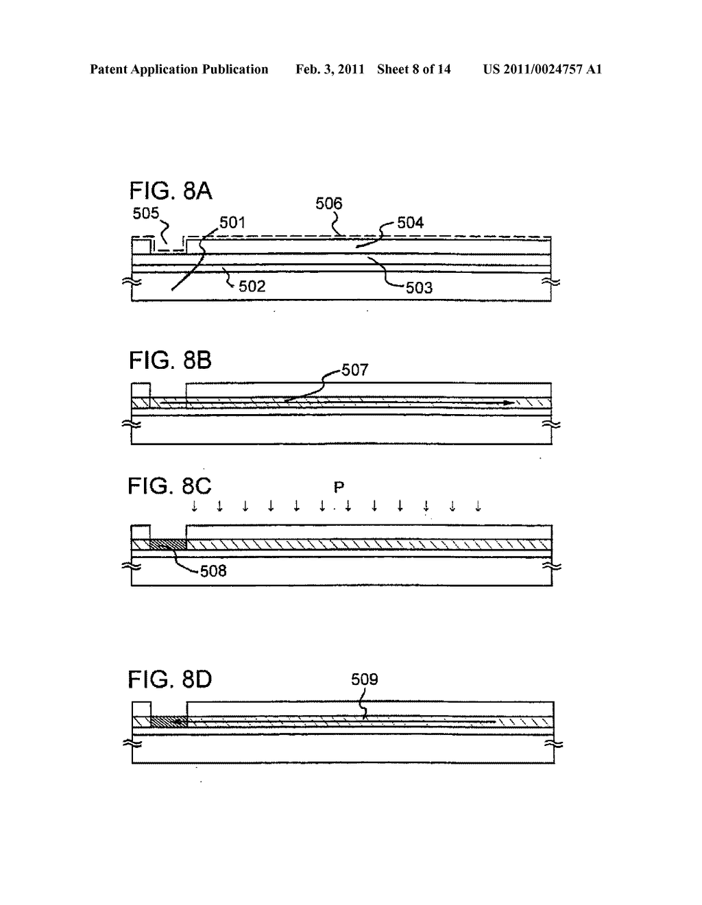 Semiconductor Device and Fabrication Method Thereof - diagram, schematic, and image 09