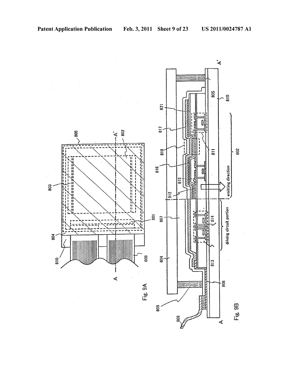 LIGHT EMITTING DEVICE AND METHOD OF MANUFACTURING THE SAME - diagram, schematic, and image 10