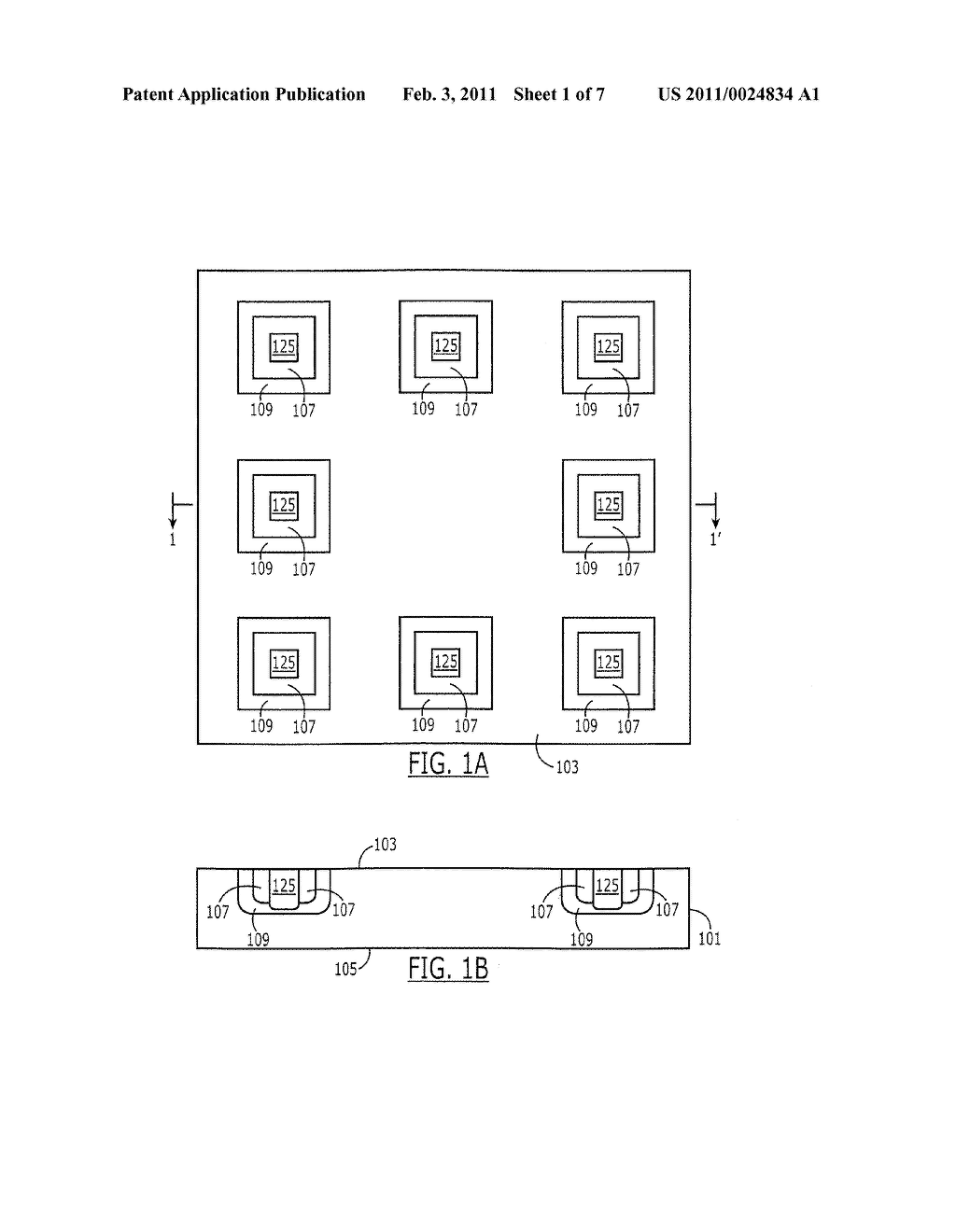 Semiconductor Devices Including Electrodes with Integrated Resistances and Related Methods - diagram, schematic, and image 02