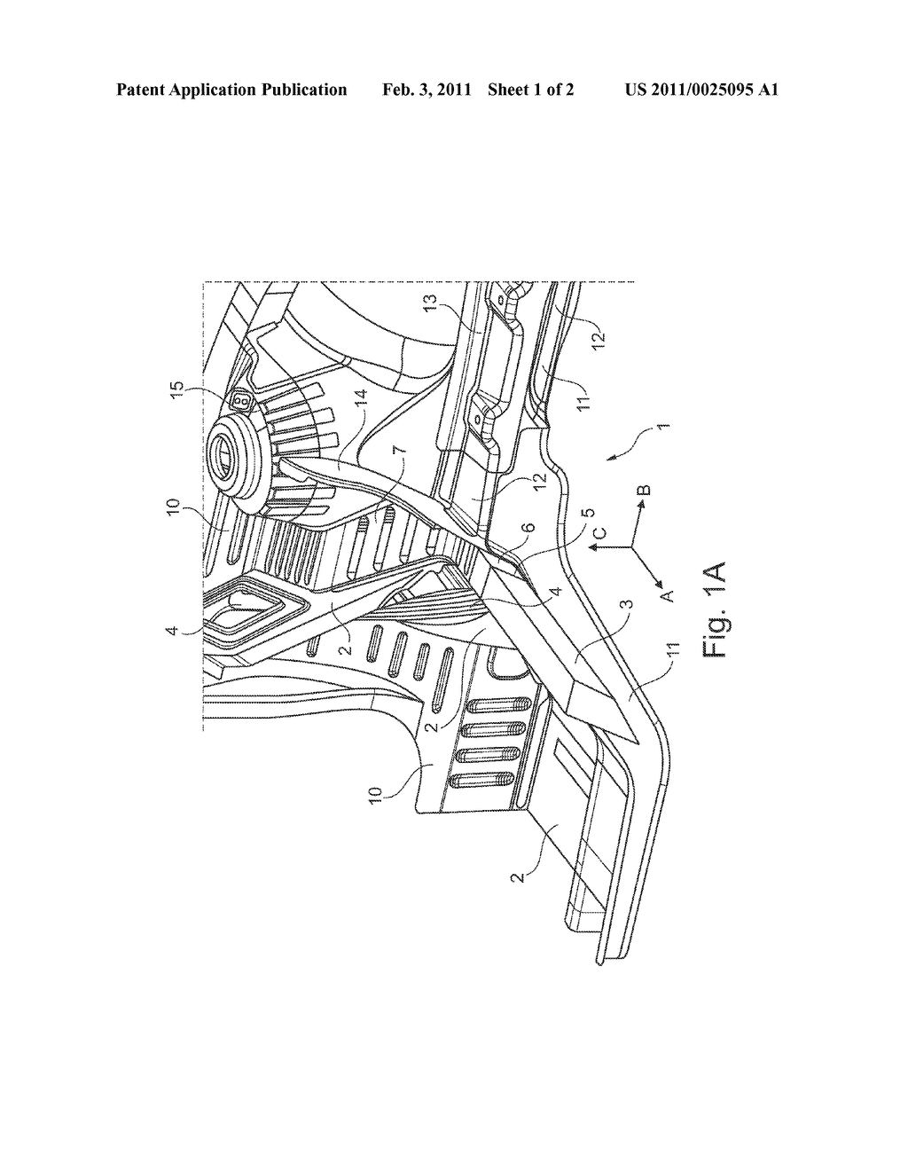MOTOR VEHICLE FRONT END AND METHOD FOR PRODUCING A MOTOR VEHICLE FRONT END - diagram, schematic, and image 02
