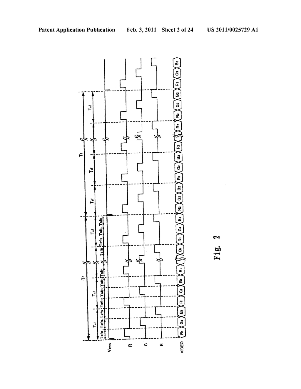 FIELD SEQUENTIAL LIQUID CRYSTAL DISPLAY DEVICE AND DRIVING METHOD THEREOF, AND HEAD MOUNTED DISPLAY - diagram, schematic, and image 03