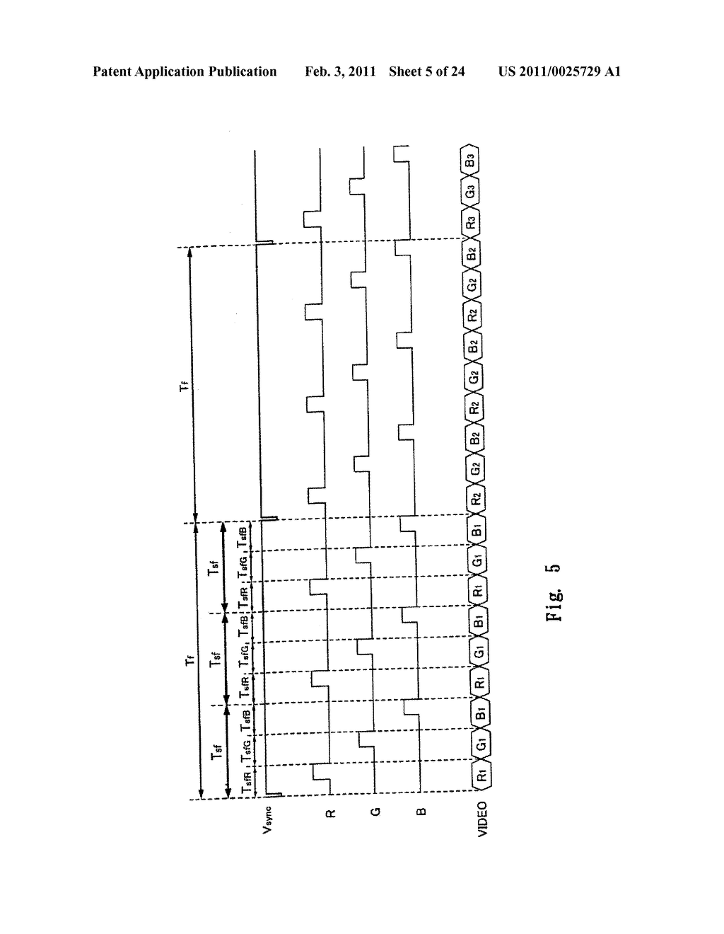 FIELD SEQUENTIAL LIQUID CRYSTAL DISPLAY DEVICE AND DRIVING METHOD THEREOF, AND HEAD MOUNTED DISPLAY - diagram, schematic, and image 06