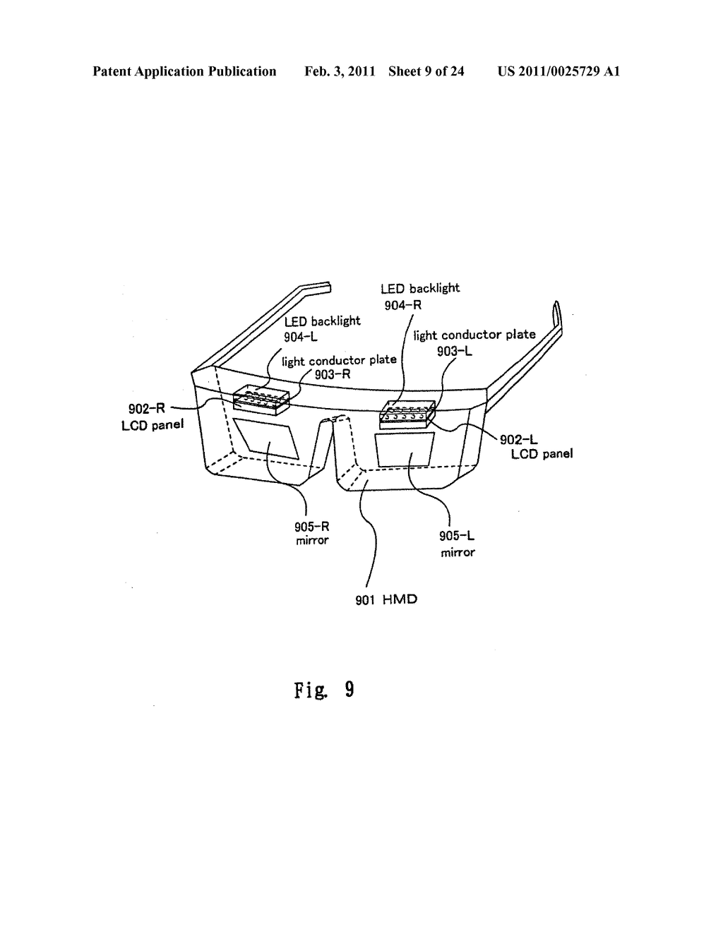 FIELD SEQUENTIAL LIQUID CRYSTAL DISPLAY DEVICE AND DRIVING METHOD THEREOF, AND HEAD MOUNTED DISPLAY - diagram, schematic, and image 10