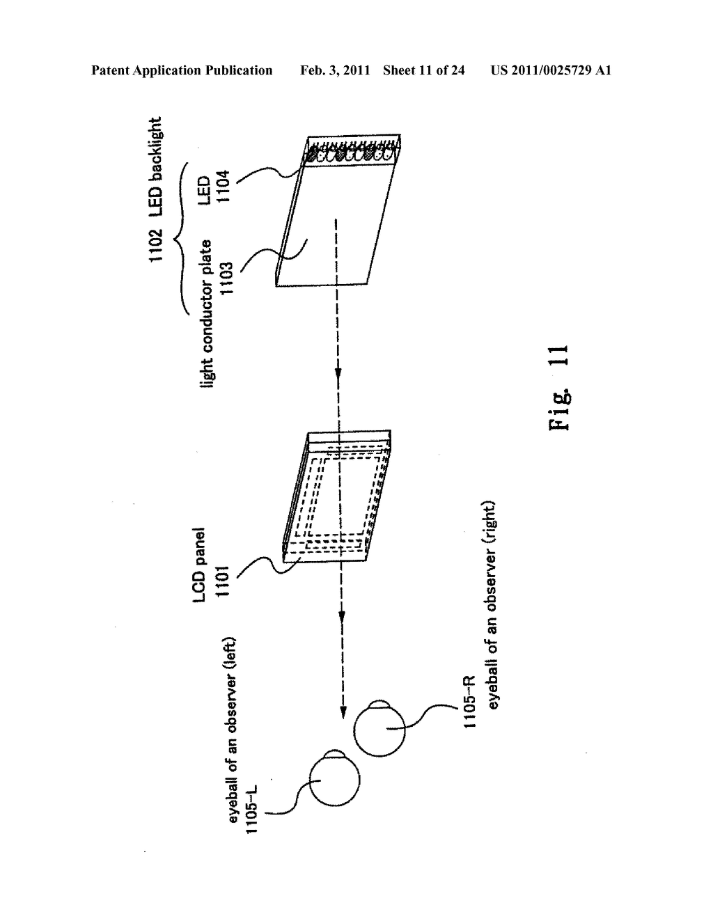 FIELD SEQUENTIAL LIQUID CRYSTAL DISPLAY DEVICE AND DRIVING METHOD THEREOF, AND HEAD MOUNTED DISPLAY - diagram, schematic, and image 12