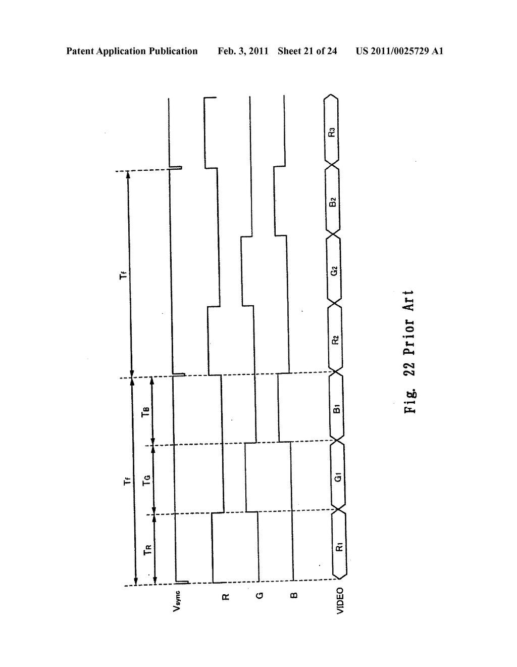 FIELD SEQUENTIAL LIQUID CRYSTAL DISPLAY DEVICE AND DRIVING METHOD THEREOF, AND HEAD MOUNTED DISPLAY - diagram, schematic, and image 22