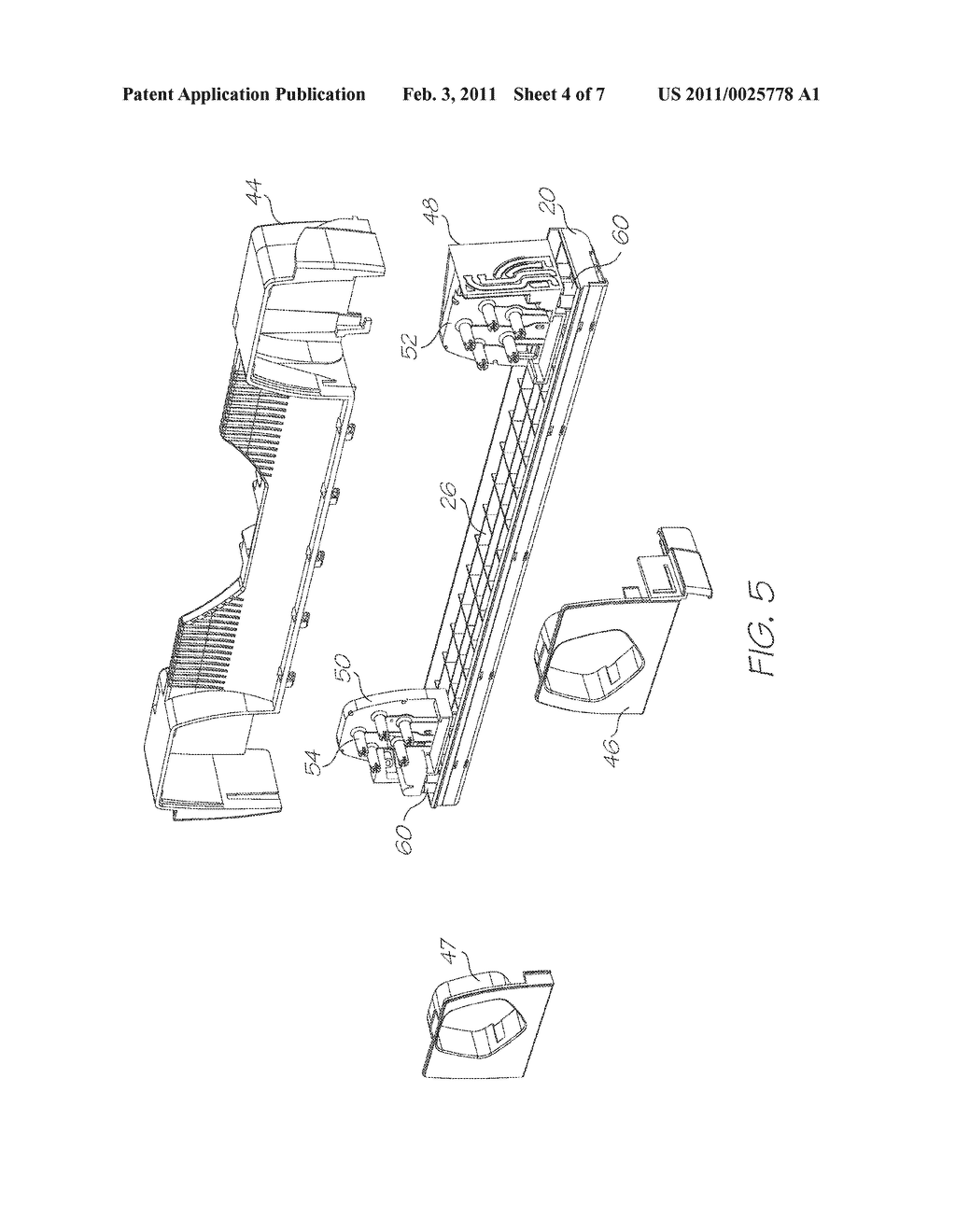 PRINTHEAD ASSEMBLY WITH PROFILED EXTERIOR SURFACE - diagram, schematic, and image 05