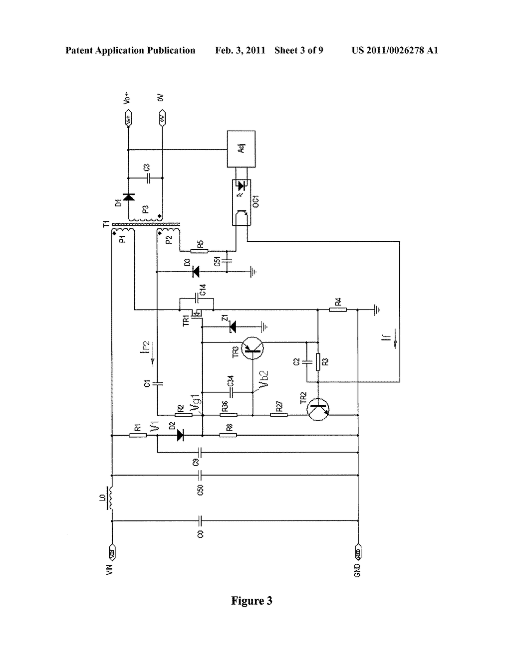 Self Oscillating Flyback Converter Circuit Diagram Tradeoficcom Dc Regulator For Oscillator Circuits Current Controlled With Two Rh Patentsencyclopedia Com