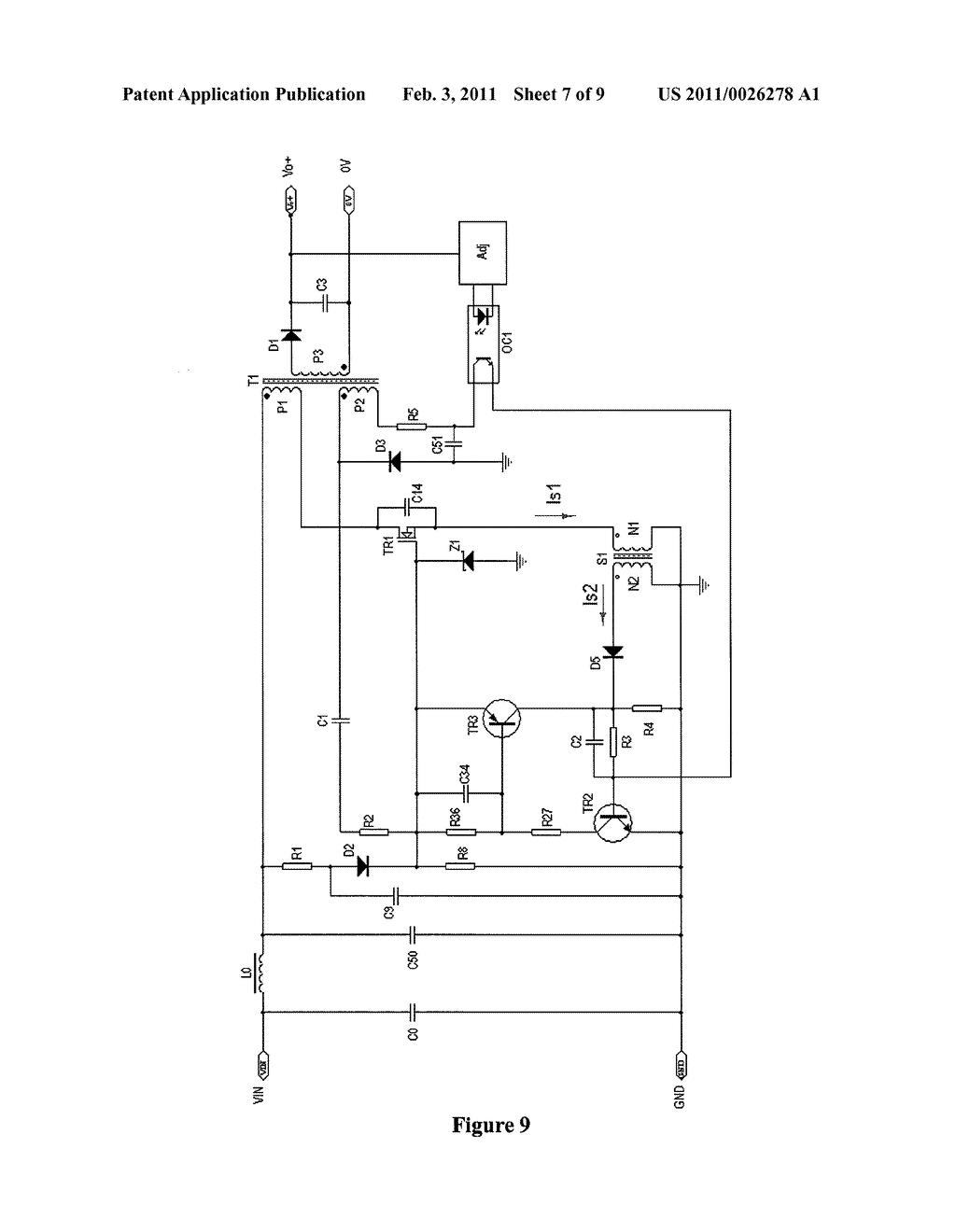 Self Oscillating Flyback Converter Circuit Diagram Tradeoficcom Ac Dc Low Tester Installbay Ib26250 Current Controlled With Two Rh Patentsencyclopedia Com
