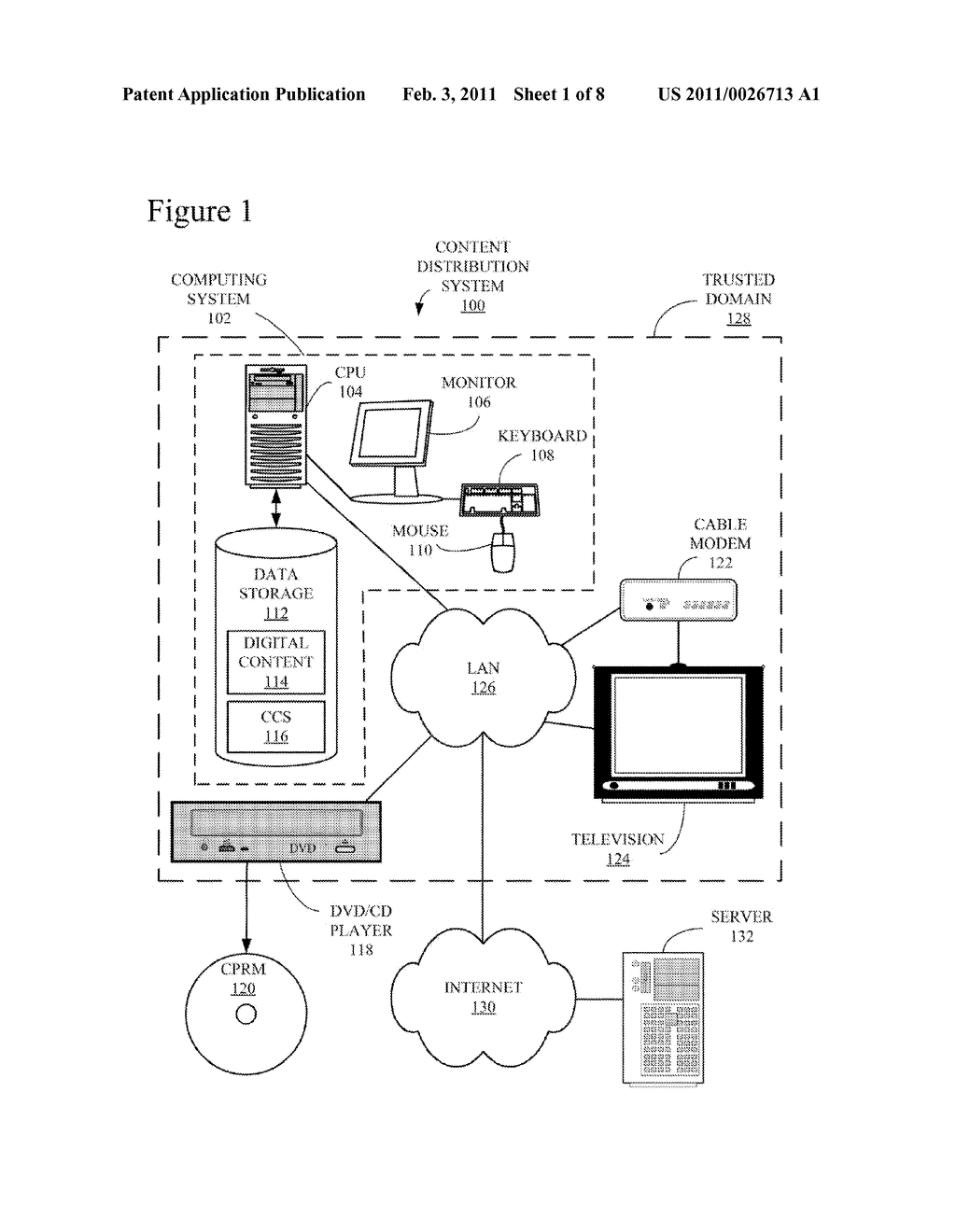 Efficient Rebinding of Partitioned Content Encrypted Using Broadcast Encryption - diagram, schematic, and image 02