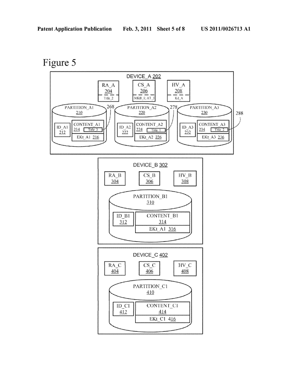 Efficient Rebinding of Partitioned Content Encrypted Using Broadcast Encryption - diagram, schematic, and image 06