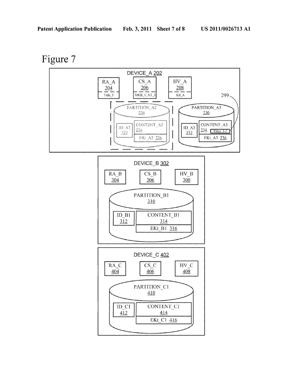 Efficient Rebinding of Partitioned Content Encrypted Using Broadcast Encryption - diagram, schematic, and image 08