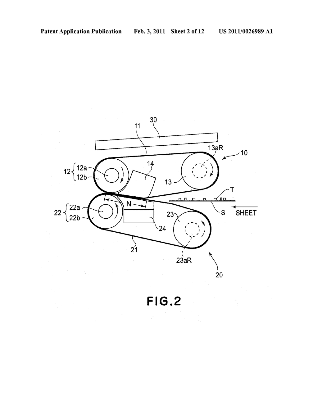 BELT DRIVING APPARATUS, AND IMAGE FORMING APPARATUS HAVING BELT DRIVING APPARATUS - diagram, schematic, and image 03