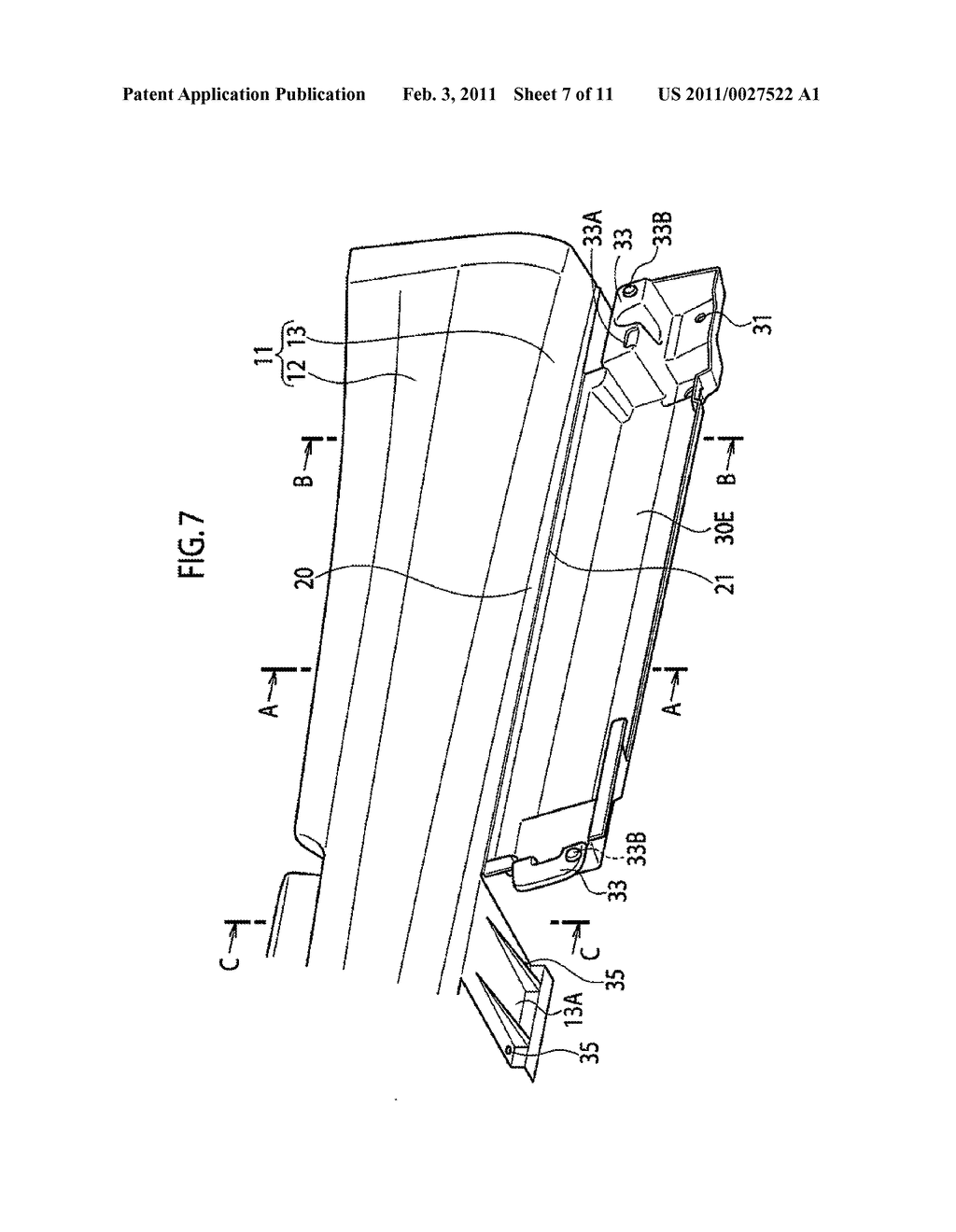 RESIN MOLDED COMPONENT FOR VEHICLE - diagram, schematic, and image 08