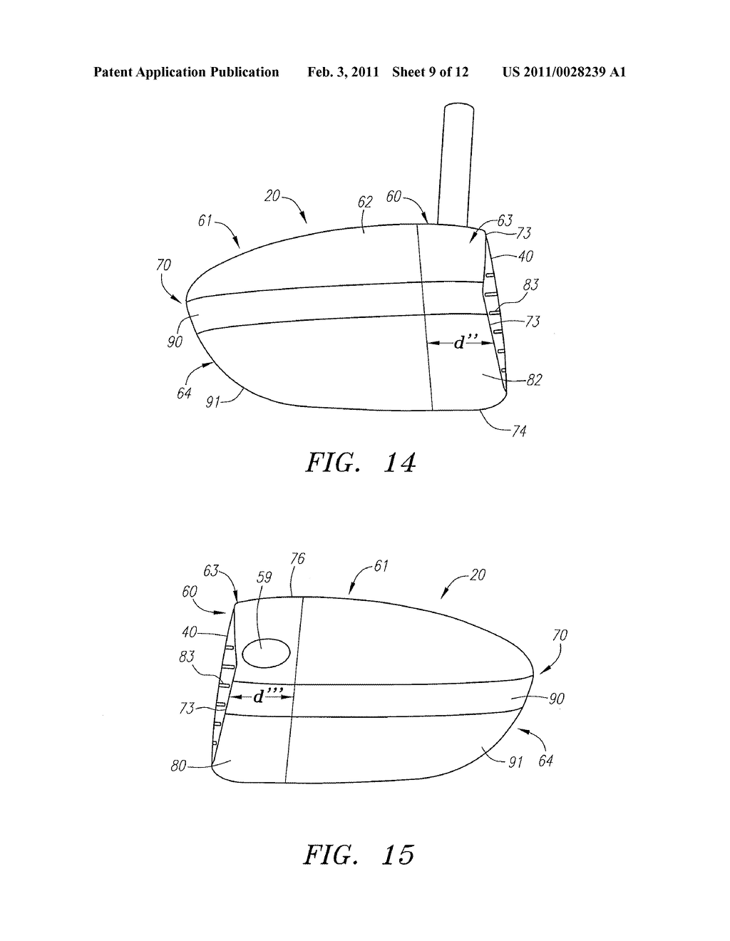 GOLF CLUB HEAD - diagram, schematic, and image 10
