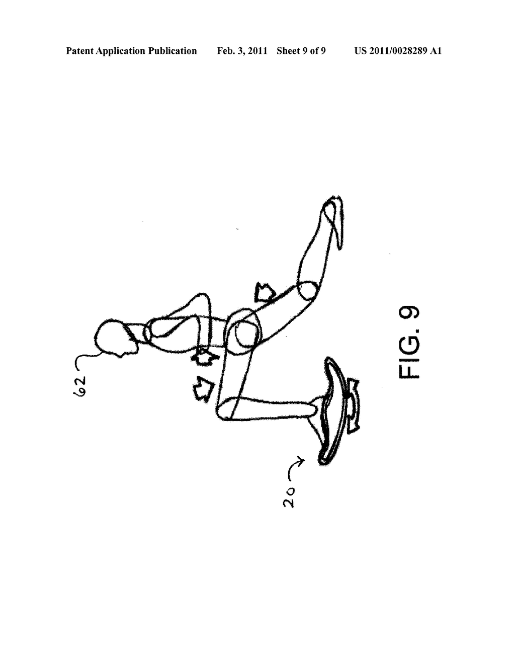 Compact and Light Multi-Exercise Device Providing Hyperextension and Instability in all Directions - diagram, schematic, and image 10