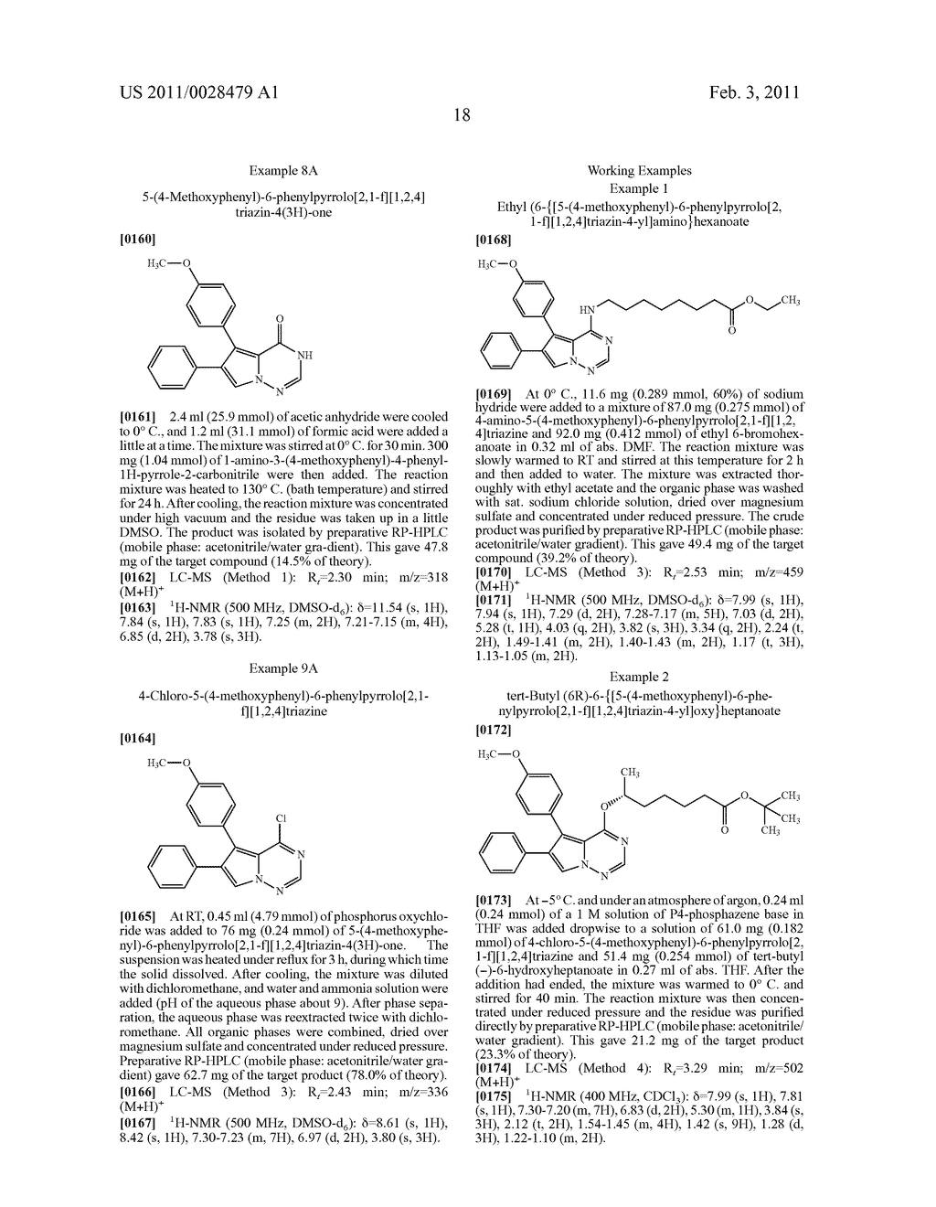 SUBSTITUTED PYRROLOTRIAZINES AND THEIR USE - diagram, schematic, and image 19