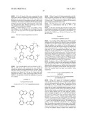 CYCLIC COMPOUNDS AND THE USE THEREOF AS LIGHT ABSORBERS, LIGHT EMITTERS, OR COMPLEX LIGANDS diagram and image