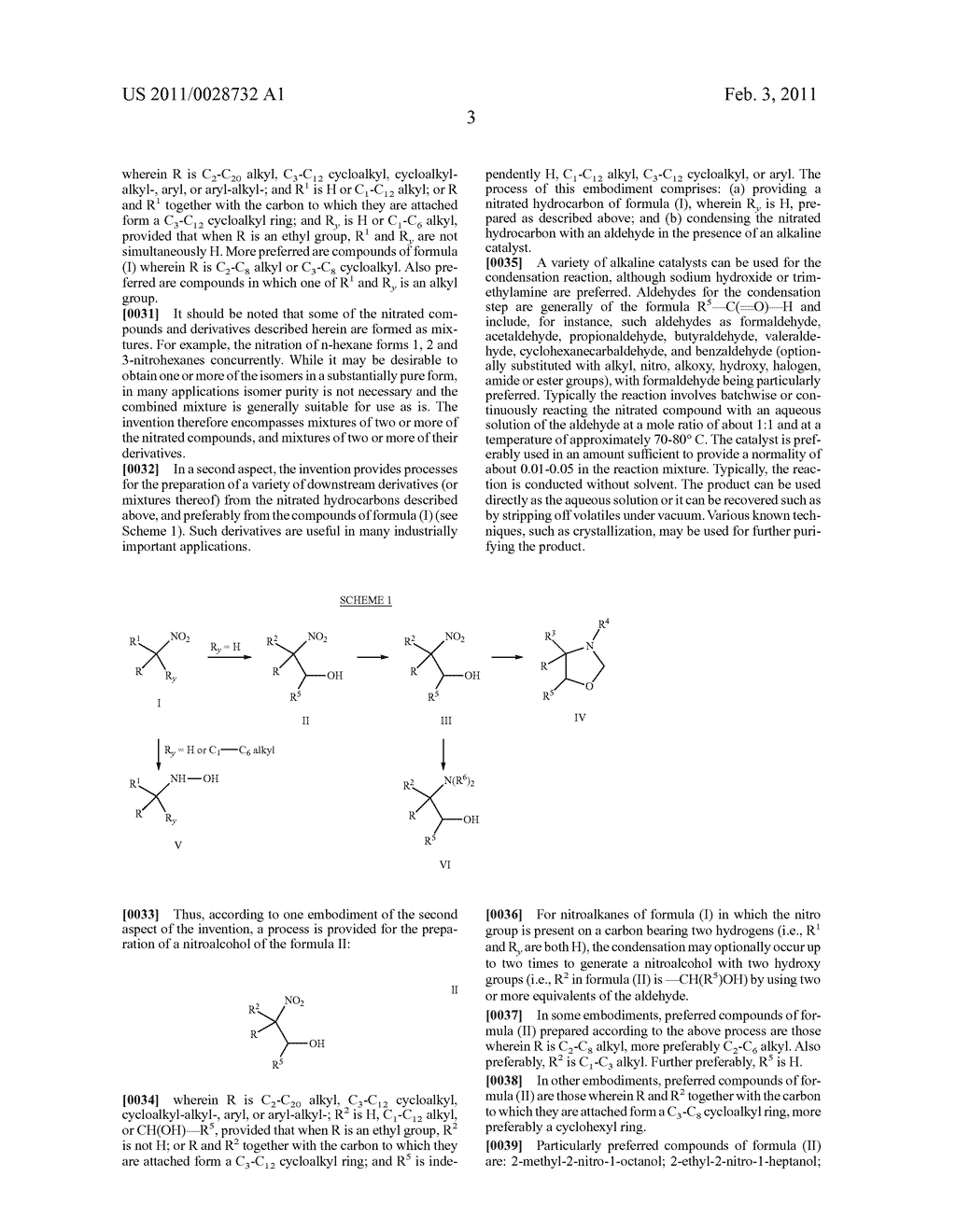 NITRATED HYDROCARBONS, DERIVATIVES, AND PROCESSES FOR THEIR MANUFACTURE - diagram, schematic, and image 04