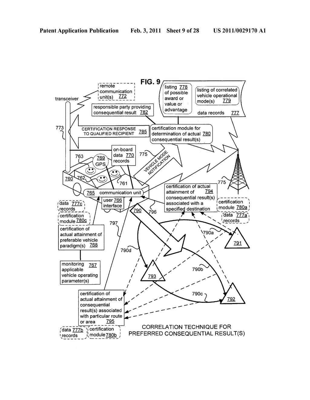 System for selective vehicle operation modes - diagram, schematic, and image 10