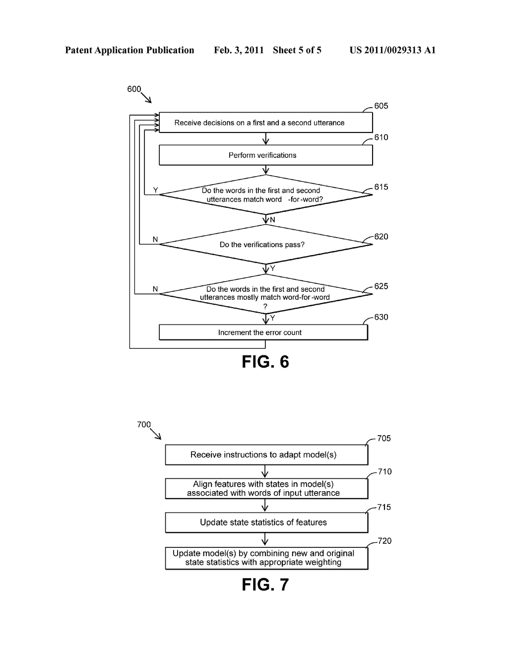 METHODS AND SYSTEMS FOR ADAPTING A MODEL FOR A SPEECH RECOGNITION SYSTEM - diagram, schematic, and image 06