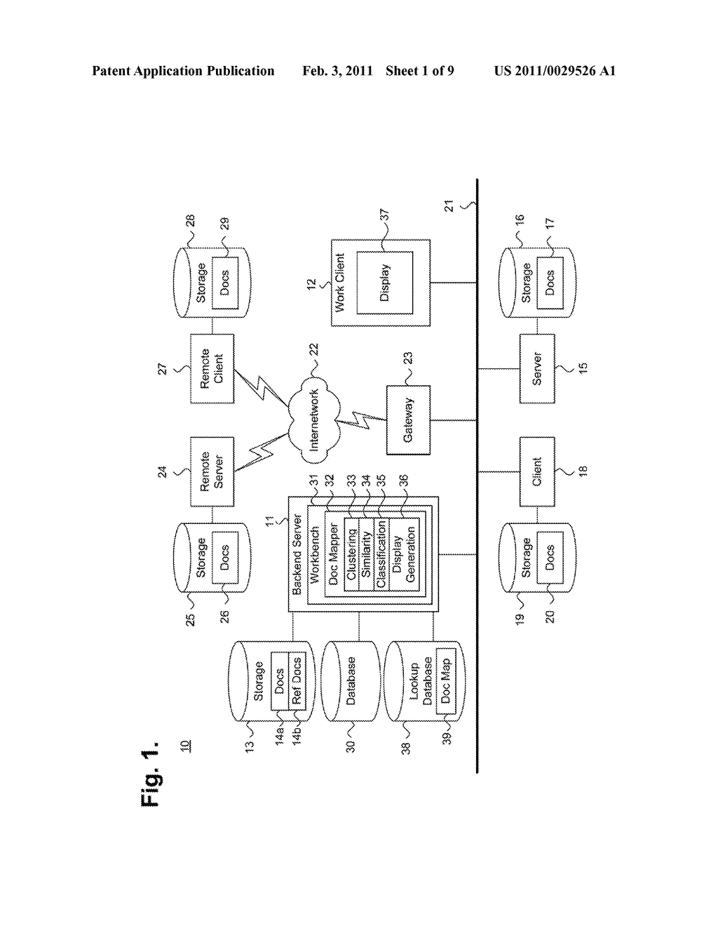 System And Method For Displaying Relationships Between Electronically Stored Information To Provide Classification Suggestions Via Inclusion - diagram, schematic, and image 02