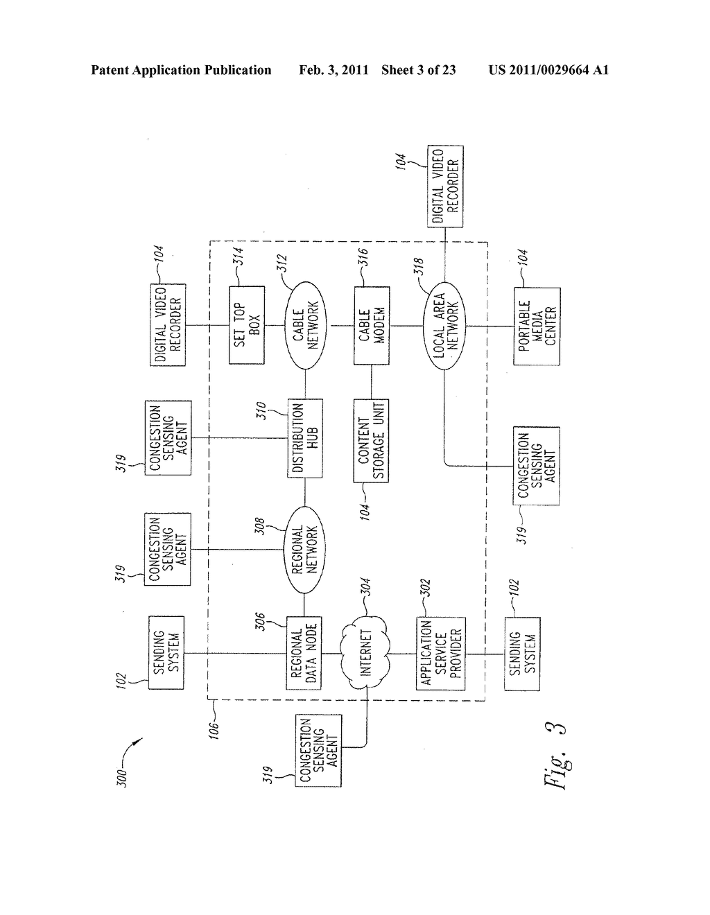 SYSTEM AND METHOD FOR PEAK FLOW DETECTION IN A COMMUNICATION NETWORK - diagram, schematic, and image 04