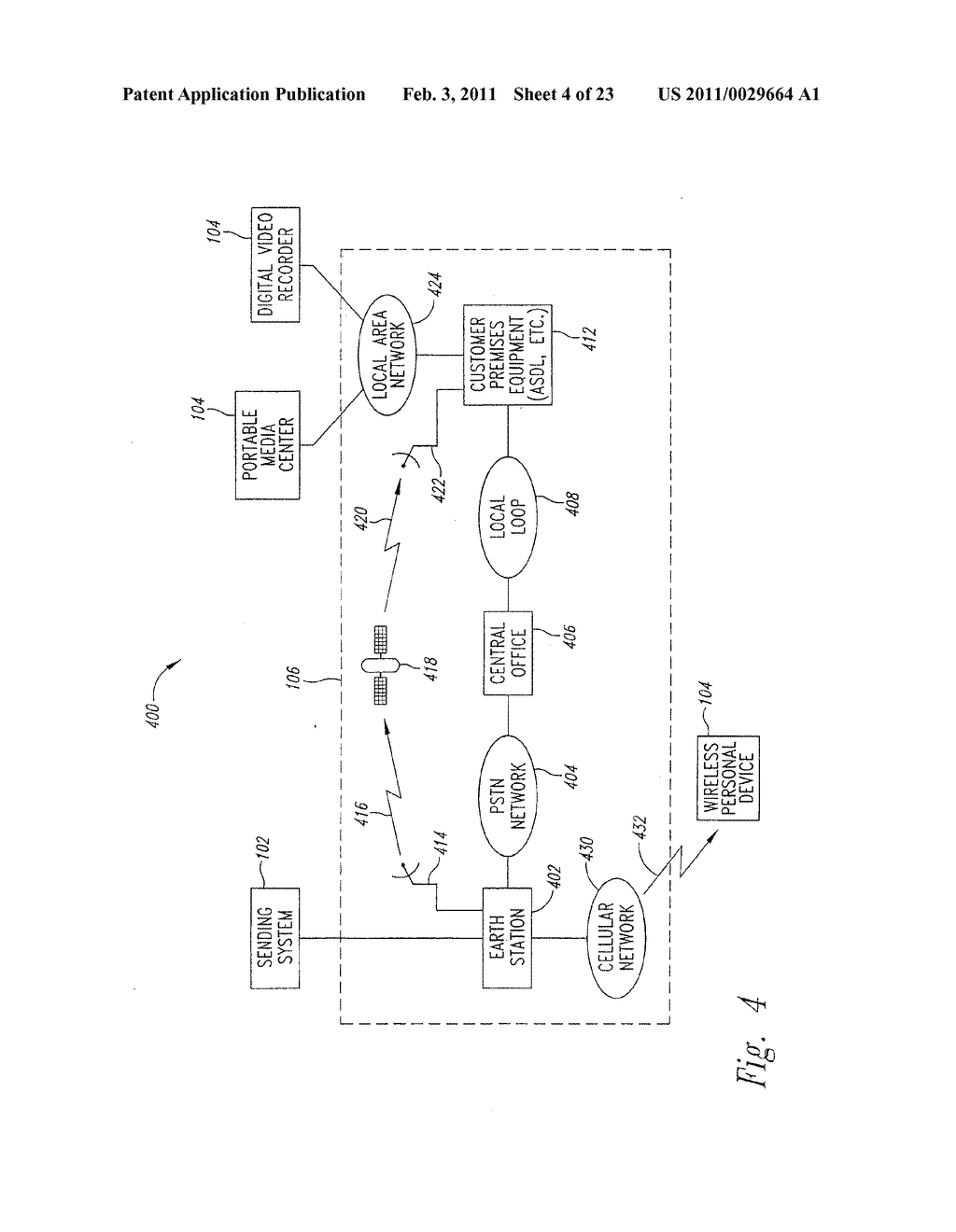 SYSTEM AND METHOD FOR PEAK FLOW DETECTION IN A COMMUNICATION NETWORK - diagram, schematic, and image 05