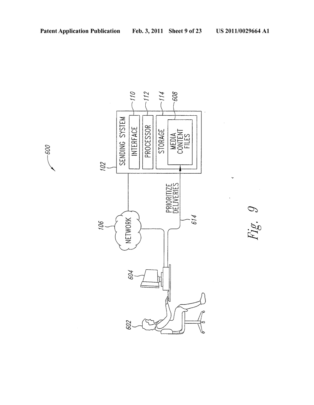 SYSTEM AND METHOD FOR PEAK FLOW DETECTION IN A COMMUNICATION NETWORK - diagram, schematic, and image 10
