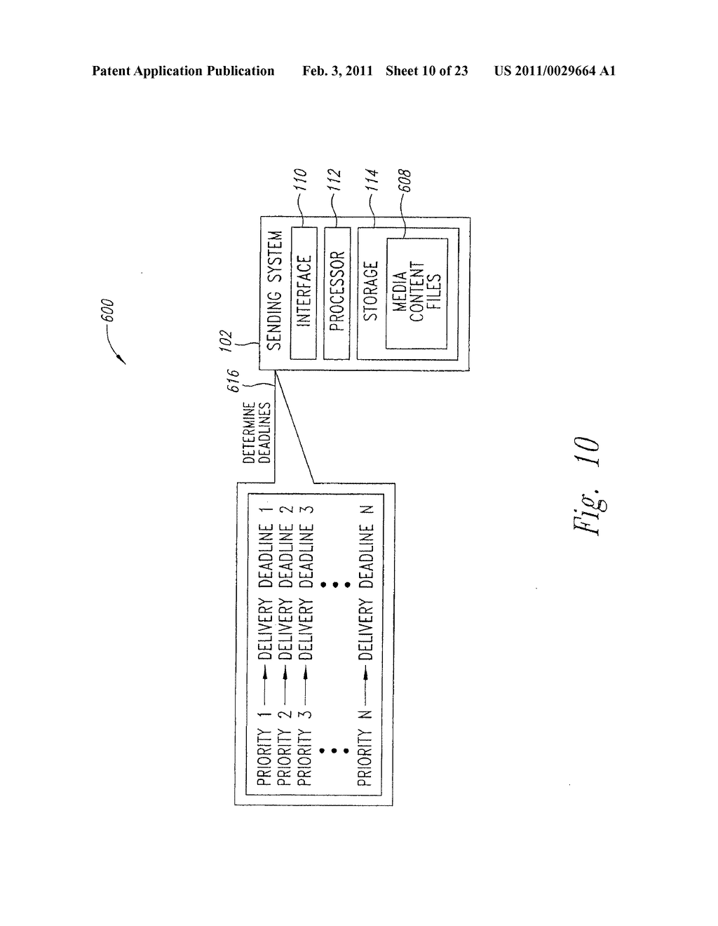 SYSTEM AND METHOD FOR PEAK FLOW DETECTION IN A COMMUNICATION NETWORK - diagram, schematic, and image 11