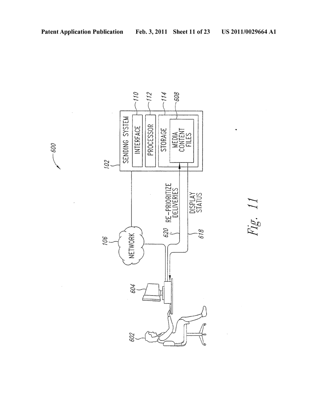 SYSTEM AND METHOD FOR PEAK FLOW DETECTION IN A COMMUNICATION NETWORK - diagram, schematic, and image 12