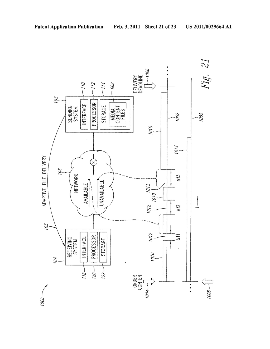 SYSTEM AND METHOD FOR PEAK FLOW DETECTION IN A COMMUNICATION NETWORK - diagram, schematic, and image 22