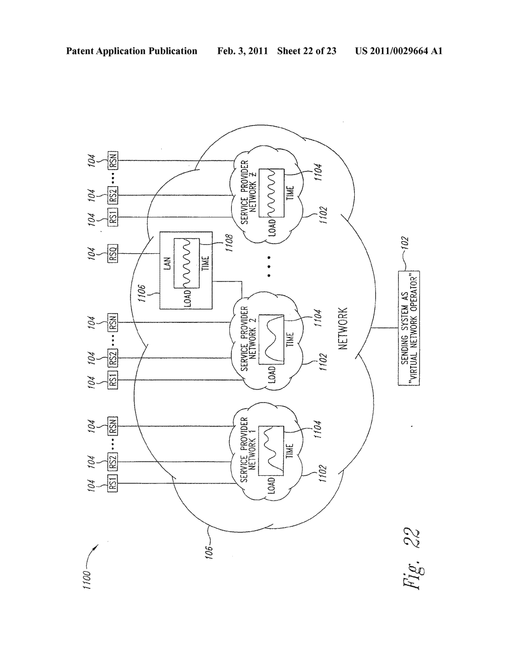 SYSTEM AND METHOD FOR PEAK FLOW DETECTION IN A COMMUNICATION NETWORK - diagram, schematic, and image 23