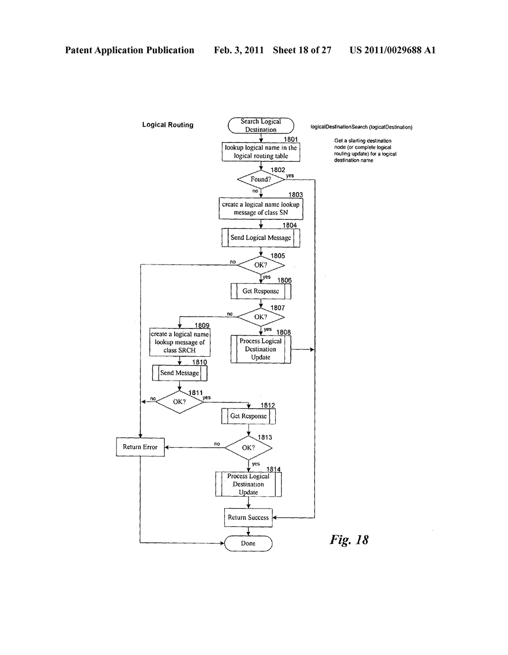 LOGICAL ROUTING SYSTEM - diagram, schematic, and image 19