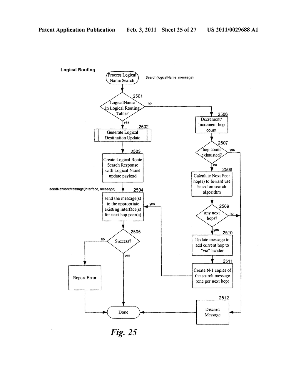 LOGICAL ROUTING SYSTEM - diagram, schematic, and image 26