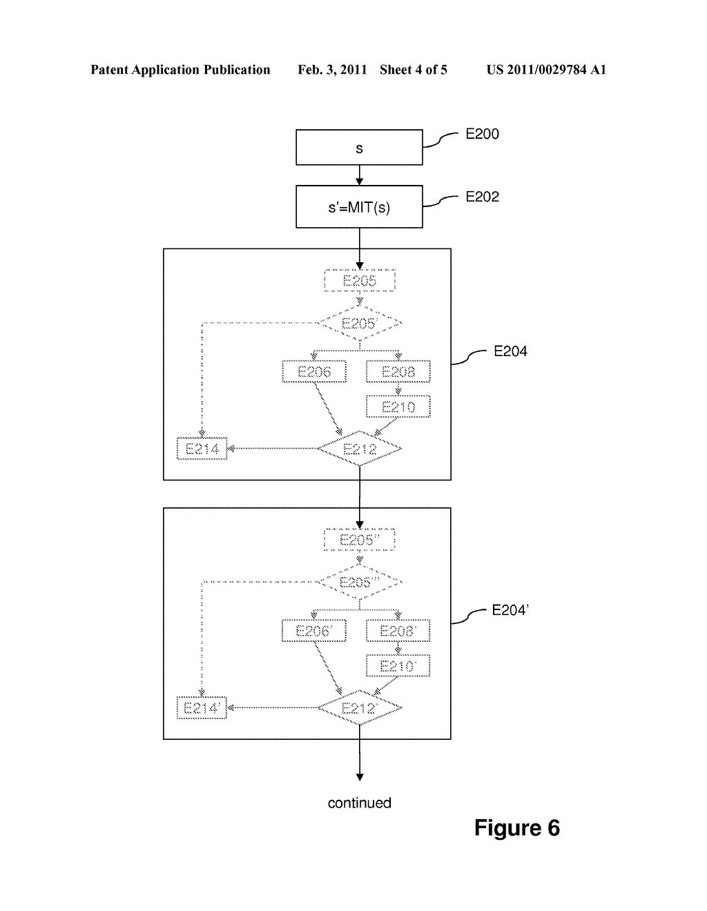 METHOD OF PROCESSING DATA PROTECTED AGAINST FAULT INJECTION ATTACKS AND ASSOCIATED DEVICE - diagram, schematic, and image 05