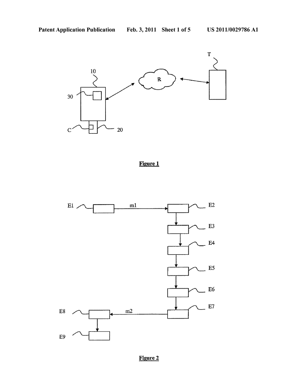METHOD FOR ACCESSING AND TRANSFERRING DATA LINKED TO AN APPLICATION INSTALLED ON A SECURITY MODULE ASSOCIATED WITH A MOBILE TERMINAL, AND ASSOCIATED SECURITY MODULE, MANAGEMENT SERVER AND SYSTEM - diagram, schematic, and image 02