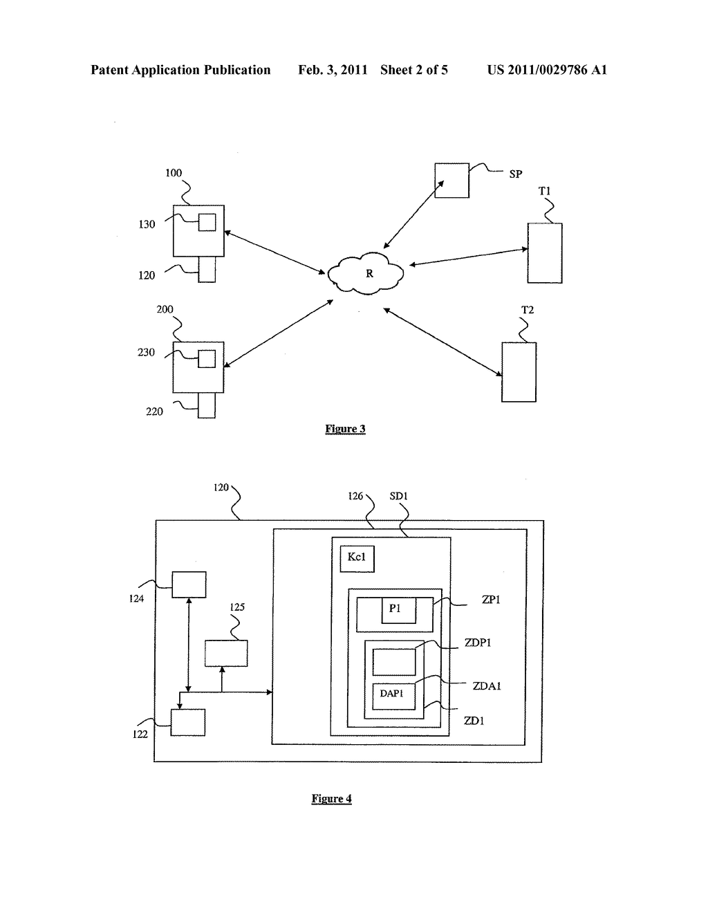 METHOD FOR ACCESSING AND TRANSFERRING DATA LINKED TO AN APPLICATION INSTALLED ON A SECURITY MODULE ASSOCIATED WITH A MOBILE TERMINAL, AND ASSOCIATED SECURITY MODULE, MANAGEMENT SERVER AND SYSTEM - diagram, schematic, and image 03