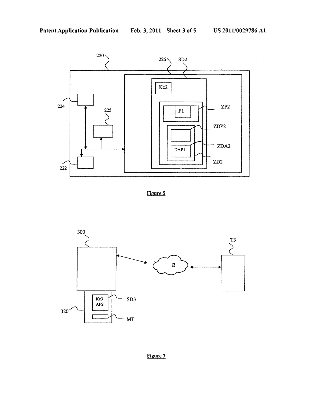 METHOD FOR ACCESSING AND TRANSFERRING DATA LINKED TO AN APPLICATION INSTALLED ON A SECURITY MODULE ASSOCIATED WITH A MOBILE TERMINAL, AND ASSOCIATED SECURITY MODULE, MANAGEMENT SERVER AND SYSTEM - diagram, schematic, and image 04