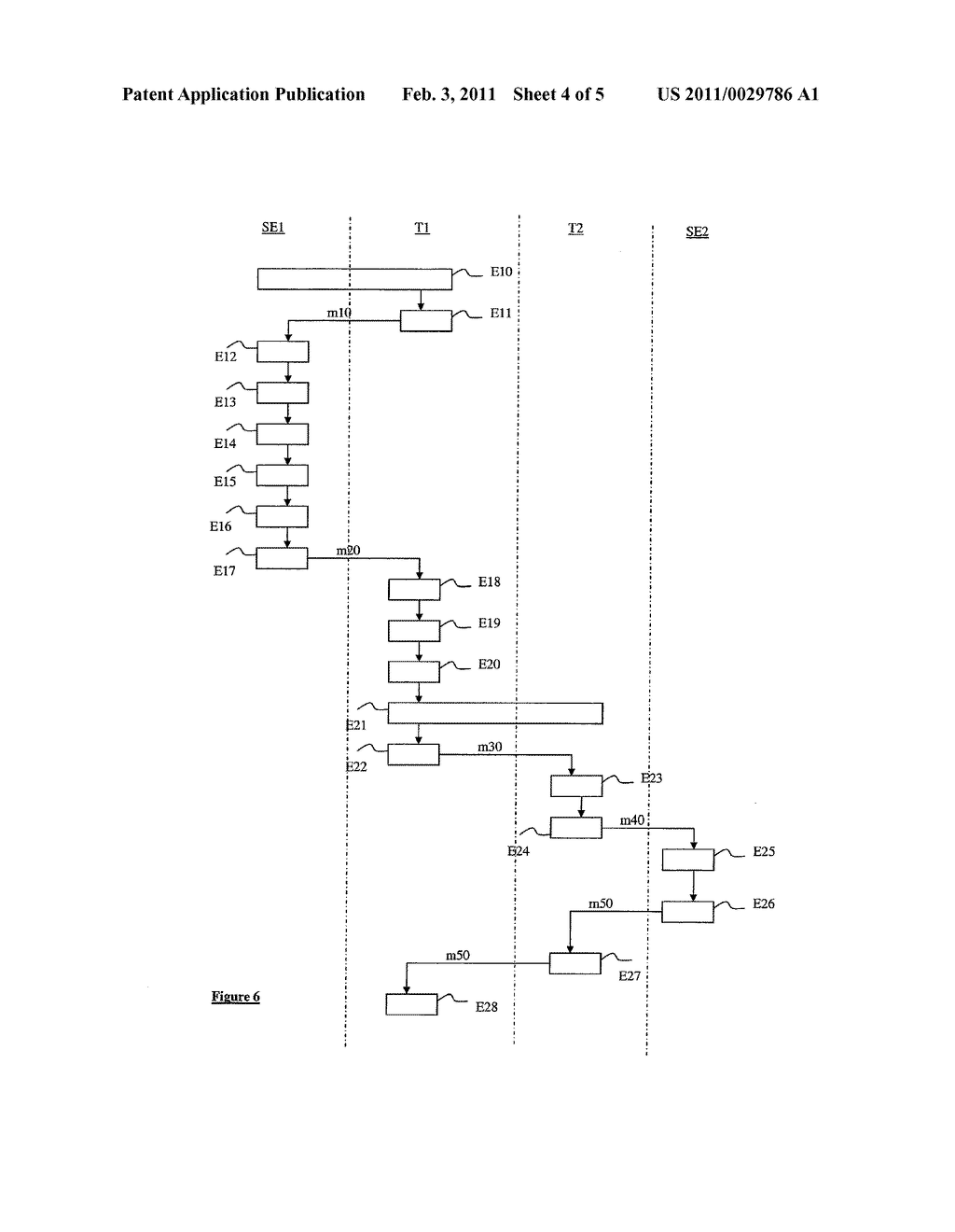 METHOD FOR ACCESSING AND TRANSFERRING DATA LINKED TO AN APPLICATION INSTALLED ON A SECURITY MODULE ASSOCIATED WITH A MOBILE TERMINAL, AND ASSOCIATED SECURITY MODULE, MANAGEMENT SERVER AND SYSTEM - diagram, schematic, and image 05